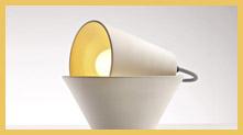 Mia 台灯 · 拥有两个灯罩的台灯