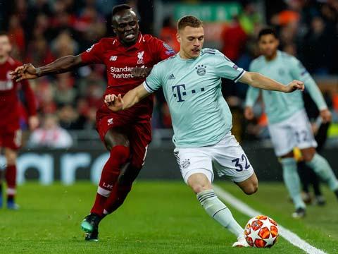 [歐冠]1/8決賽:利物浦VS拜仁慕尼黑 上半場