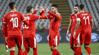 [圖]歐預賽-米特洛維奇雙響 塞爾維亞3-2盧森堡