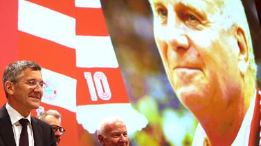 [圖]拜仁舉行年度大會 赫內斯宣布退休