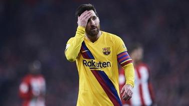 [图]国王杯-梅西失良机 巴萨93分钟遭绝杀出局