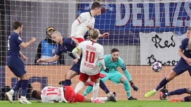 [歐冠]1/8決賽次回合:萊比錫3-0熱刺 比賽集錦