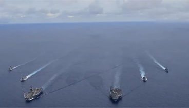 《今日关注》 20200927 抵近南海 扩容海军 美在推高地区冲突风险?