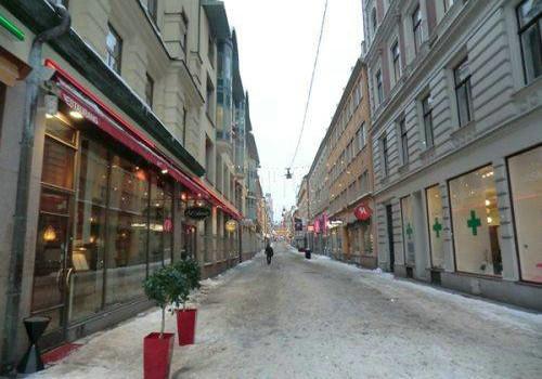 Проспект в Стокгольме, столице Швеции