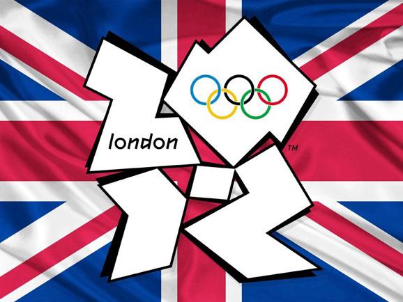 英国国旗与2012年伦敦奥运会会徽