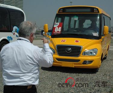 早在2010年,世界客车博览亚洲展就关注过校车产品