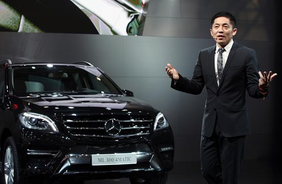 蔡公明梅赛德斯-奔驰(中国)汽车销售有限公司销售副总裁