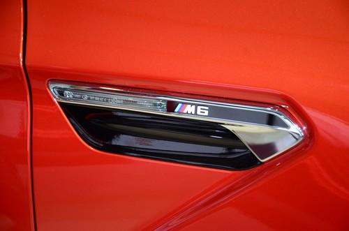 宝马新M6亮相成都车展