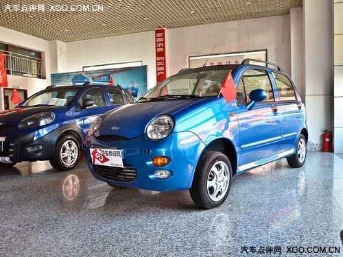 12月正式上市 奇瑞新QQ将广州车展面世