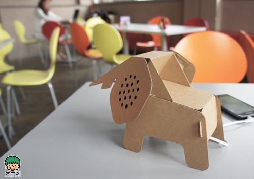 纸板DIY的创意动物玩偶