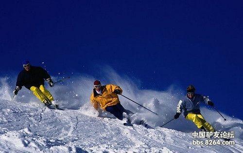 户外课堂:滑雪就连摔跟头都有讲究