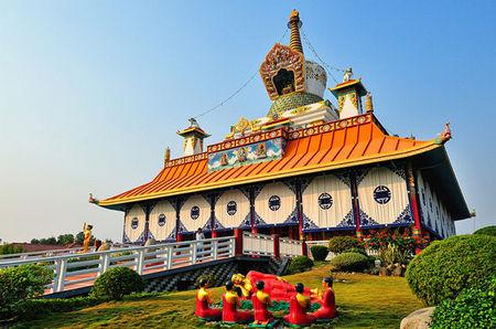 尼泊尔蓝毗尼 佛教徒的朝圣大本营