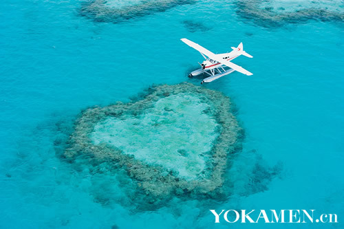 大堡礁心形礁