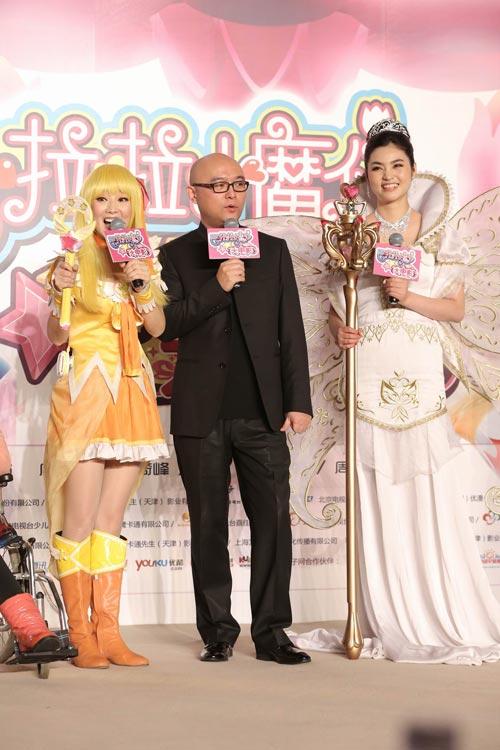 《巴啦啦小魔仙》大电影北京首映现场