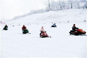 西岭雪山滑雪