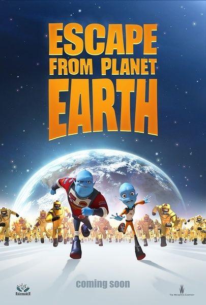 《逃离地球》预告海报
