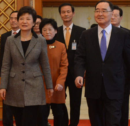 朴槿惠政府仅总理获任命多个部门业务暂停