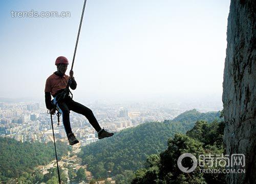 好动的广东 登山冒险开拓新户外精神