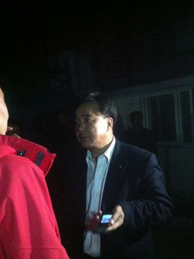 河南南阳食药局局长张树华赶赴现场