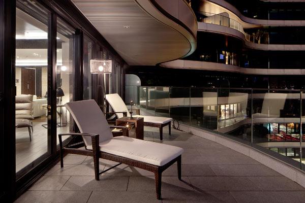 台北海纳川度假豪宅室内设计