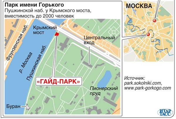 """""""Гайд-парк"""" в Москве"""