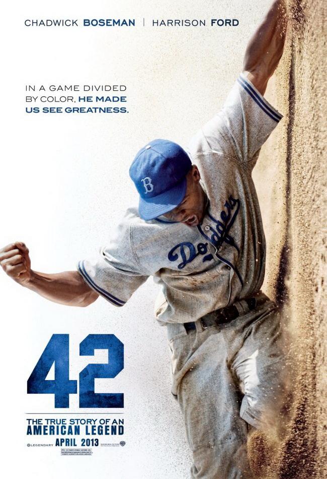 电影《42号》海报一