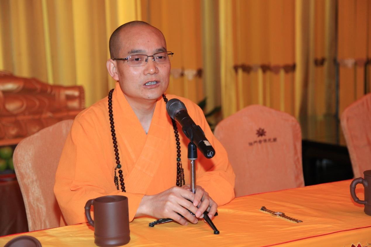 贤空法师-佛教文化与文学当代价值及传播论坛在法门寺文化景区成功举办