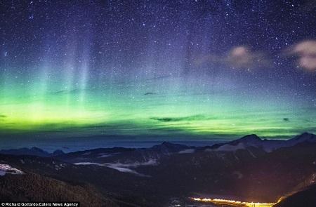 北极光美景