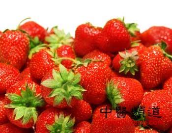 护心养肝夏季养生吃草莓的10大好处