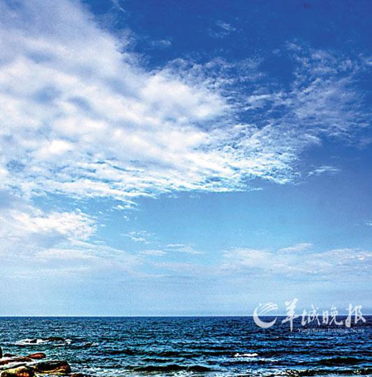汕尾遮浪岛:盛夏时节 风情万种