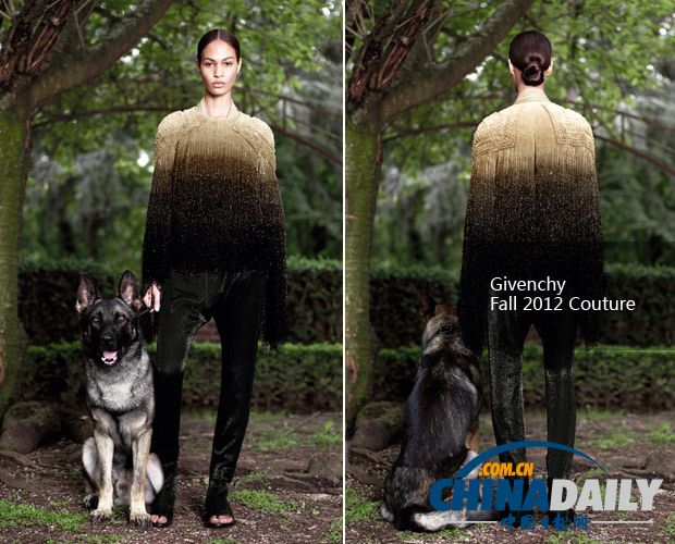 李宇春穿Givenchy礼服再走戛纳红毯 渐变色珠片裤装重达8斤