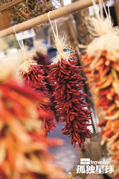 辣椒是墨西哥菜肴必不可少的调味料