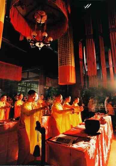 祈祷法会(�z影:林萌)