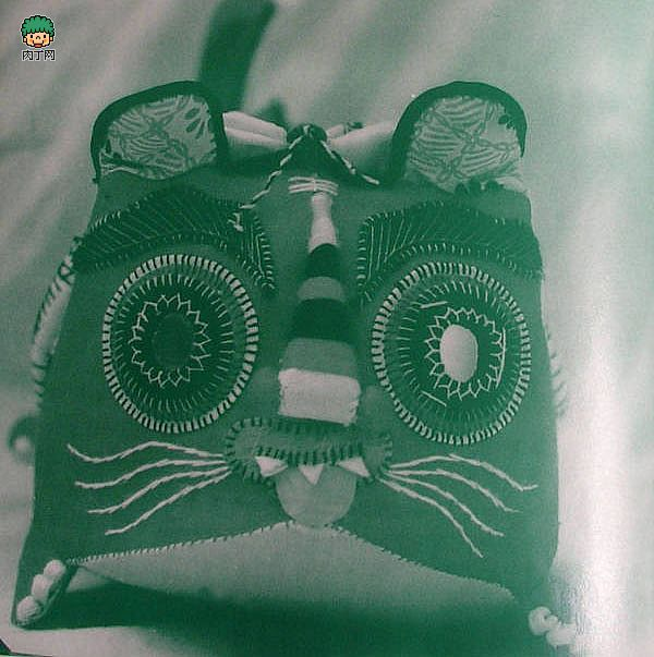 DIY简单手工缝制布老虎的制作方法图片