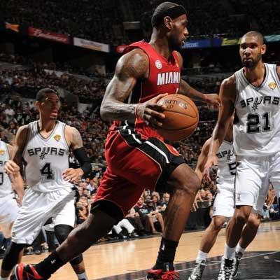 NBA总决赛 热火VS马刺 IV图片