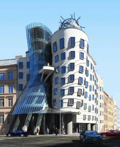 """布拉格""""跳舞的大楼"""""""