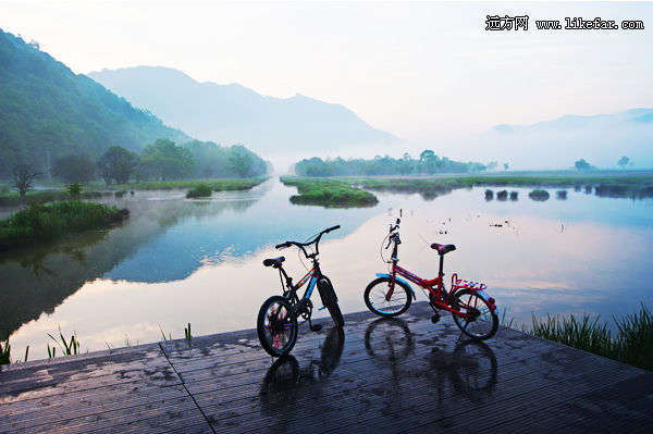 湖北风景区骑行