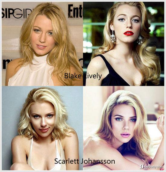 谁是最适合金发的欧美女星
