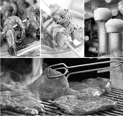 """大排档随意自然 烧烤店口味多变 老北京馆子具历史感 吃,就得""""顶风露天"""""""
