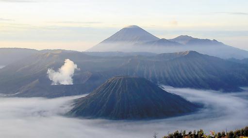 印尼火山群