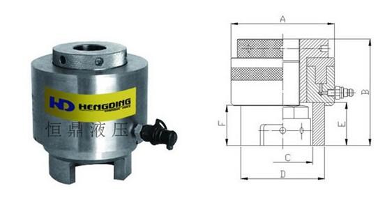 采用液压拉伸装置是其他任何工具都难以替代的,是大中型机械产品组装图片