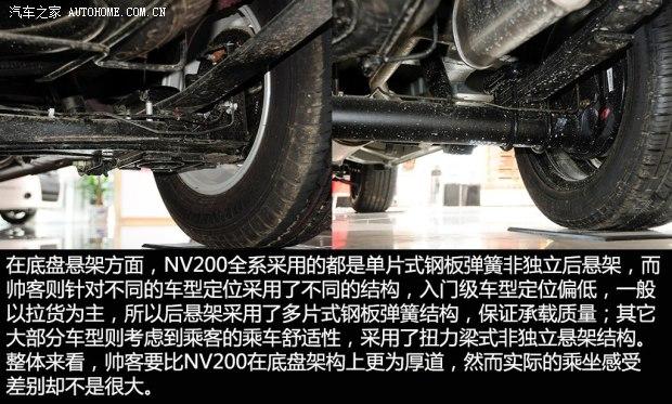 日产郑州日产日产NV2002013款 1.6L 尊贵型 国V