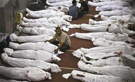 埃及清场行动中最血腥一日