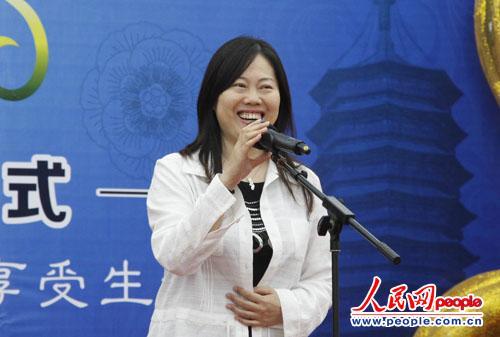 北京市丰台区人民政府副区长 张捷宣布启动
