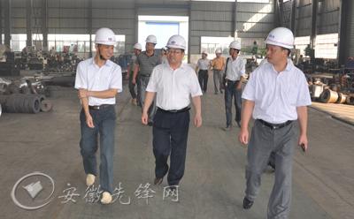 安徽安庆市委组织部到桐城调研干部人事制度改革和型