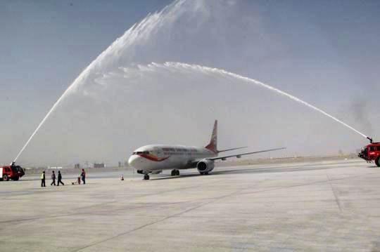 由海南航空公司执飞的从深圳