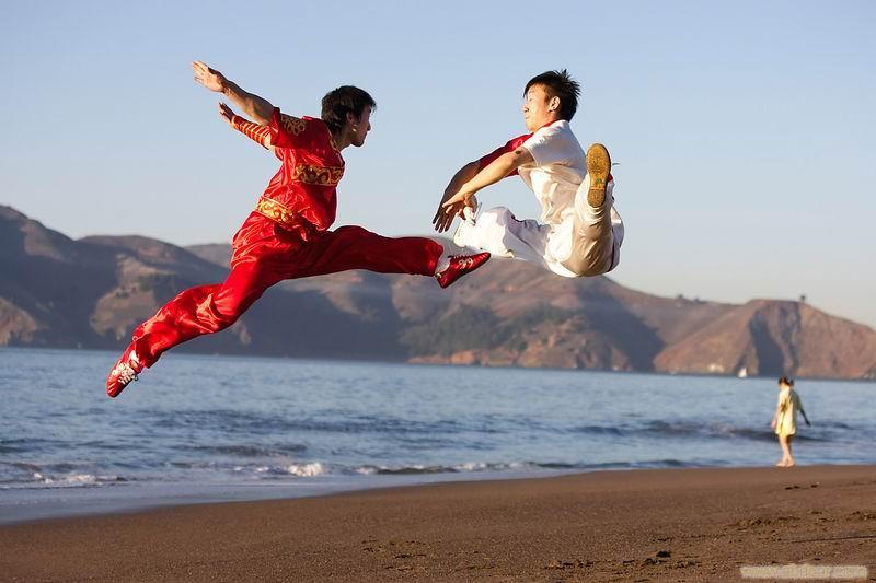 体娱武术健身好处多 强身健体+陶冶情操 5+体