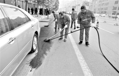 北京:取缔4450余个黑停车位