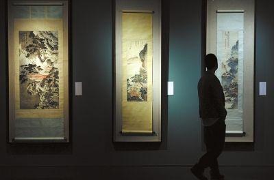 展览现场。京华时报记者任峰涛摄