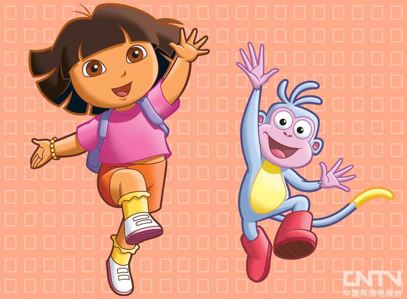 爱探险的朵拉 普通话版 适合2到8岁儿童